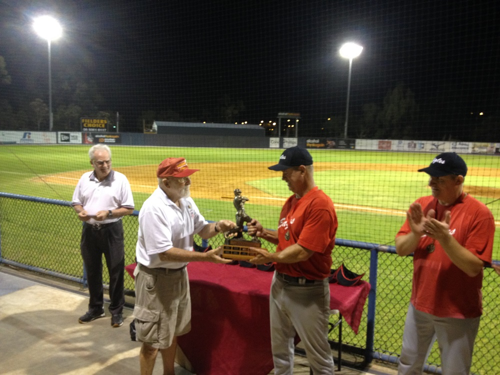 Ron Malcolm accepting the Doug & Rose Corker Trophy  1000px.jpg